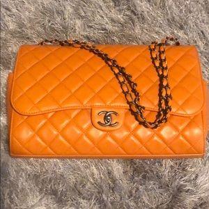 Chanel maxi jumbo flap 3-way bag